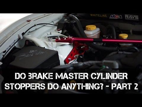 Part 2 - Do Brake Master Cylinder Braces do anything?