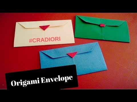 Paper Letter Origami Tutorial: Steps To Make An Envelope With Rectangle Paper