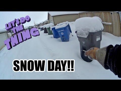 Trash Picking - SNOW DAY!!!