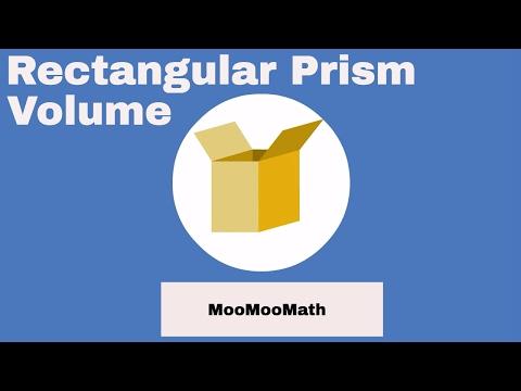 Rectangular prism-3d shape-finding volume
