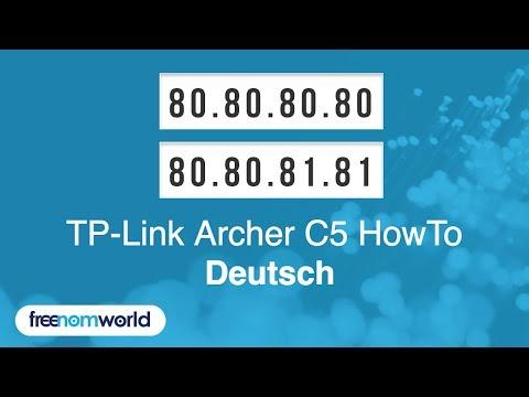 Freenom World TP-Link Archer C5 HowTo (German)