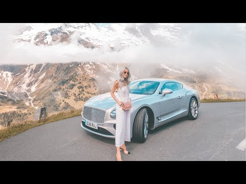 DRIVING THE NEW BENTLEY THROUGH THE ALPS TO VENICE    VLOG 98