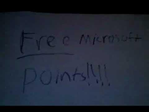 FREE MICROSOFT POINTS!!!!! NO SURVEY NO DOWNLOADS