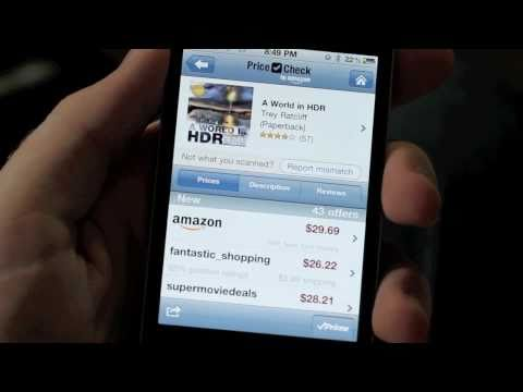 Barcode Scanning Apps - Price Check by Amazon & Shop Savvy