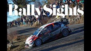 WRC Rallye Monte Carlo 2018 Toyota Yaris Drift Stage Jari Matti Latvala Esapekka Lappi Ott Tänak