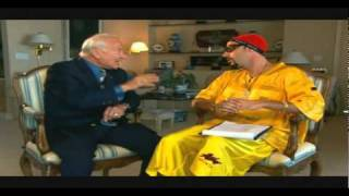 Ali G with Buzz Aldrin