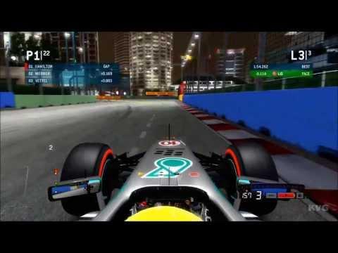 F1 2013 - Marina Bay | Singapore Grand Prix Gameplay [HD]
