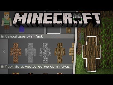 SKIN PACK DE CAMUFLAJE! ( ͡° ͜ʖ ͡°) | Minecraft 1.2 | ElSirKael