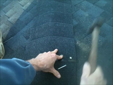 Capping a Hip Roof using 3 tab shingles