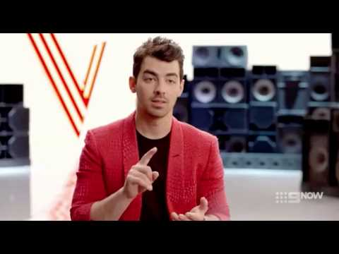 Coach Interview: Joe Jonas  || The Voice AU