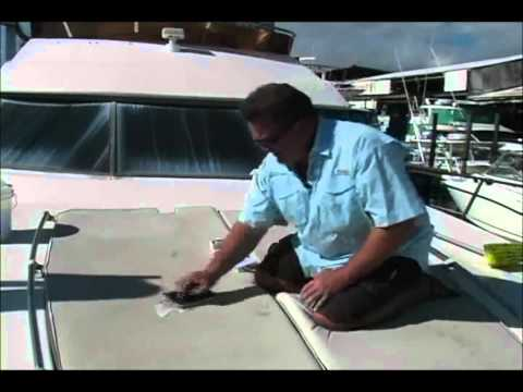 Starbrite - How to Clean Your Boat Vinyl