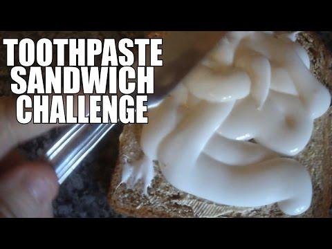 Toothpaste Sandwich Challenge | Louis Mitchell