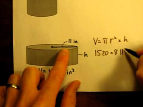 Calculate the Volume of a Cylinder