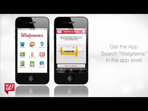 Refill Prescriptions by Scan with Walgreens Mobile App