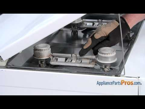Gas Range Double Burner Kit (part #WB16K10026) - How To Replace