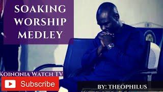 POWERFUL SOAKING WORSHIP) HOLYGHOST TAKE OVER by Theophilus Sunday