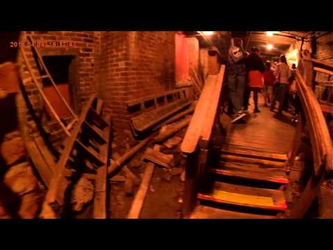Underground Seattle Tour with a Full Spectrum Camera