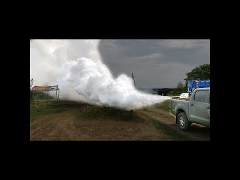 Smoke machine for cars, insect fogger and mosquito fogging insecticide