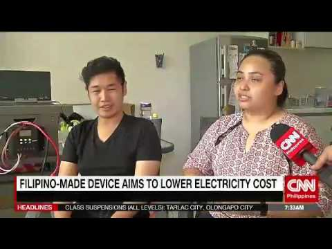 Filipino made device aims to lower electricity cost