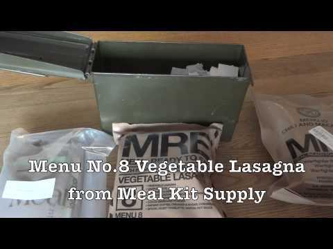 6,000 Subscriber MRE Giveaway/Contest Results Video