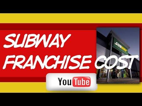 Subway Franchise Cost