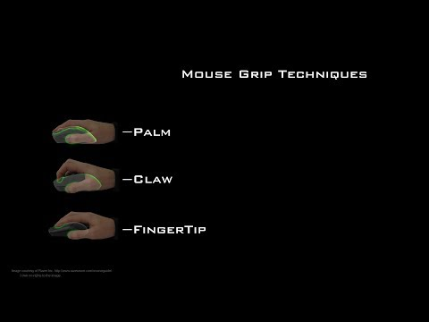 Mouse Grip Styles/Techniques - How To Tutorial