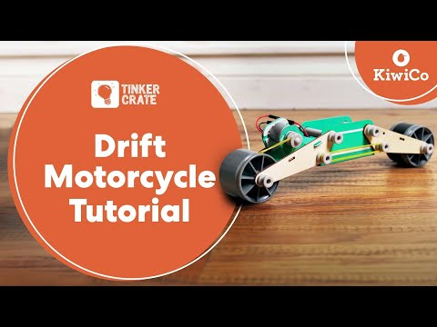 Make a Drift Motorcycle - Tinker Crate Project