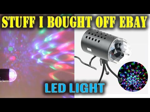 $18 3W LED Light Review  |  STUFF I BOUGHT OFF eBAY
