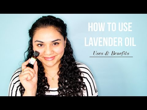 HOW TO USE LAVENDER ESSENTIAL OIL. Uses & Benefits. Acne, Burns, Aromatherapy | Rebecca Dawson