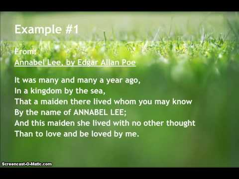 Examples of Lyric Poems
