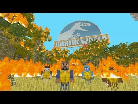 Minecraft XBOX - Hide and Seek - Jurassic World: Fallen Kingdom