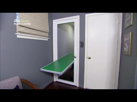 Ping Pong Table Door | Man Caves | HGTV Asia