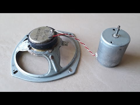 Free Energy Generator with Speaker Magnets