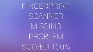 REDMI_4 #FINGERPRINT_SETTING MISSING SOLVE WITHOUT SOFTWARE