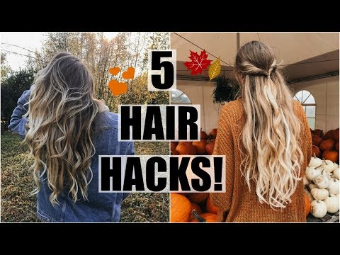 How To Have Healthy Hair // 5 hair Hacks!