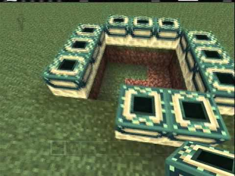 How to Make an End Portal in Minecraft Xbox 360 Edition