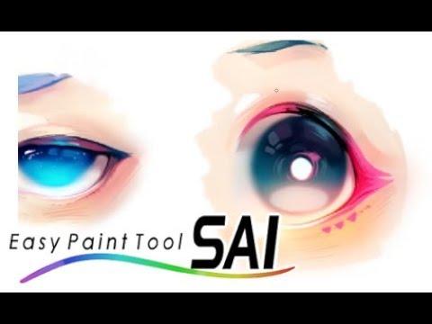 Coloreando ojos Anime  | Paint Tool Sai | Practica
