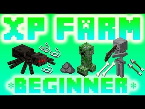 Minecraft Xbox 360: XP Farm Tutorial *Beginner*