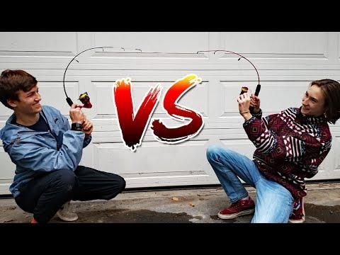Dock Demon vs Ugly Stik -- FISHING ROD DEATH CHALLENGE!!!!!!!