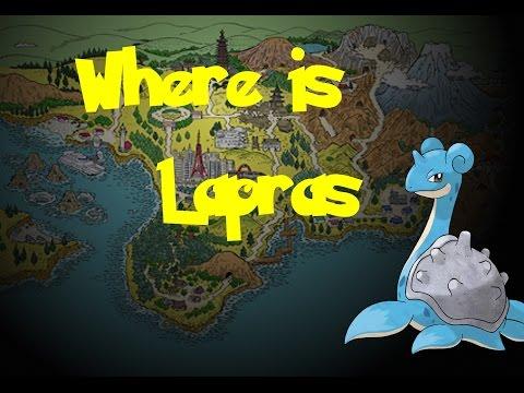 Where Is: Lapras (Pokemon Gold/Silver/Crystal)