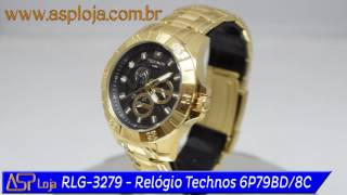 Rlg 3278   Relógio Technos Masculino Time De Heróis Giovane Gavio   Vôlei 6p79bc 4p