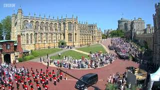 Royal Wedding: Time-lapse footage shows Windsor crowds - BBC News