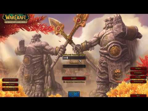 how play a private world of warcraft server on mac