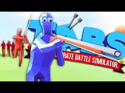 WAIT, THESE GUYS LOOK DIFFERENT! - Totally Accurate Battle Simulator Pre-Alpha Gameplay