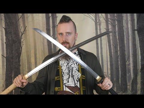 Review: Ko katana and Elite bare blade from Ronin Katana