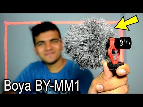 Boya BY-MM1 Mic Unboxing + Voice Samples | Best Budget Mini Shotgun Mic For Youtubers ?