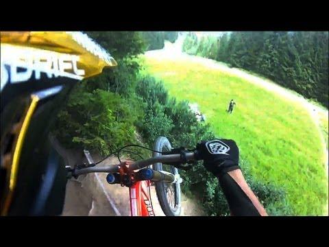 Drift HD Ghost: Full EPIC MTB Crash in Chatel, France