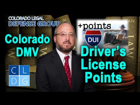 DMV points: When does my license get suspended in Colorado?