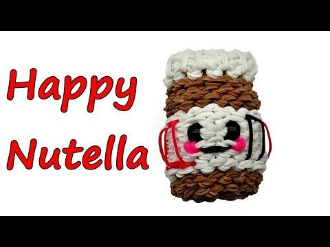 Happy Nutella by feelinspiffy (Rainbow Loom)