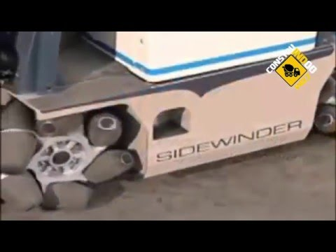 Omni Directional Sidewinder Forklift by Airtrax